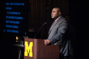 Robert Sellers is U-M's first chief diversity officer.