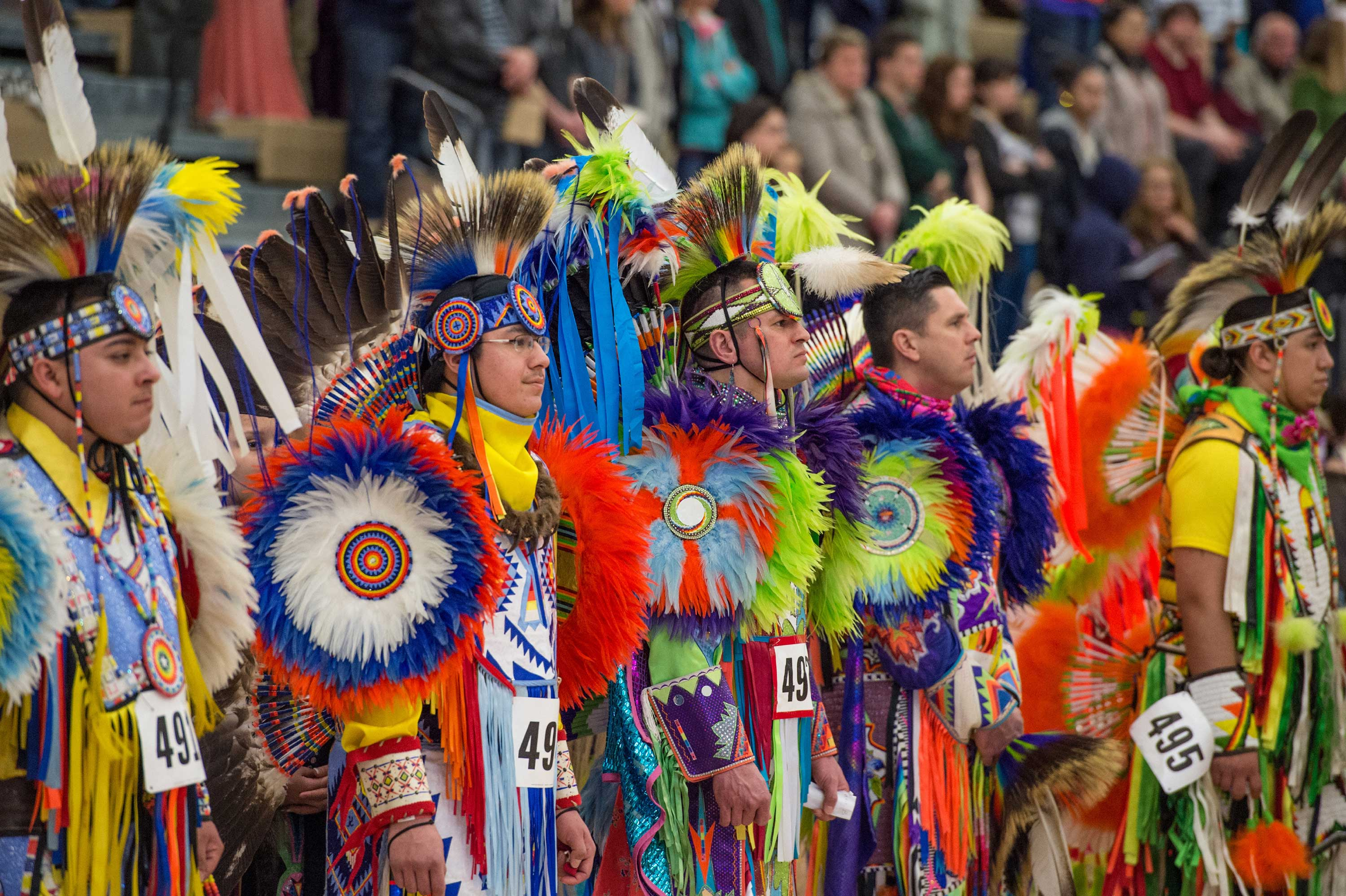 Each year, the Native American Student Association at U-M hosts the Dance for Mother Earth Powwow for the local community. It is one of the largest university powwows in the country.