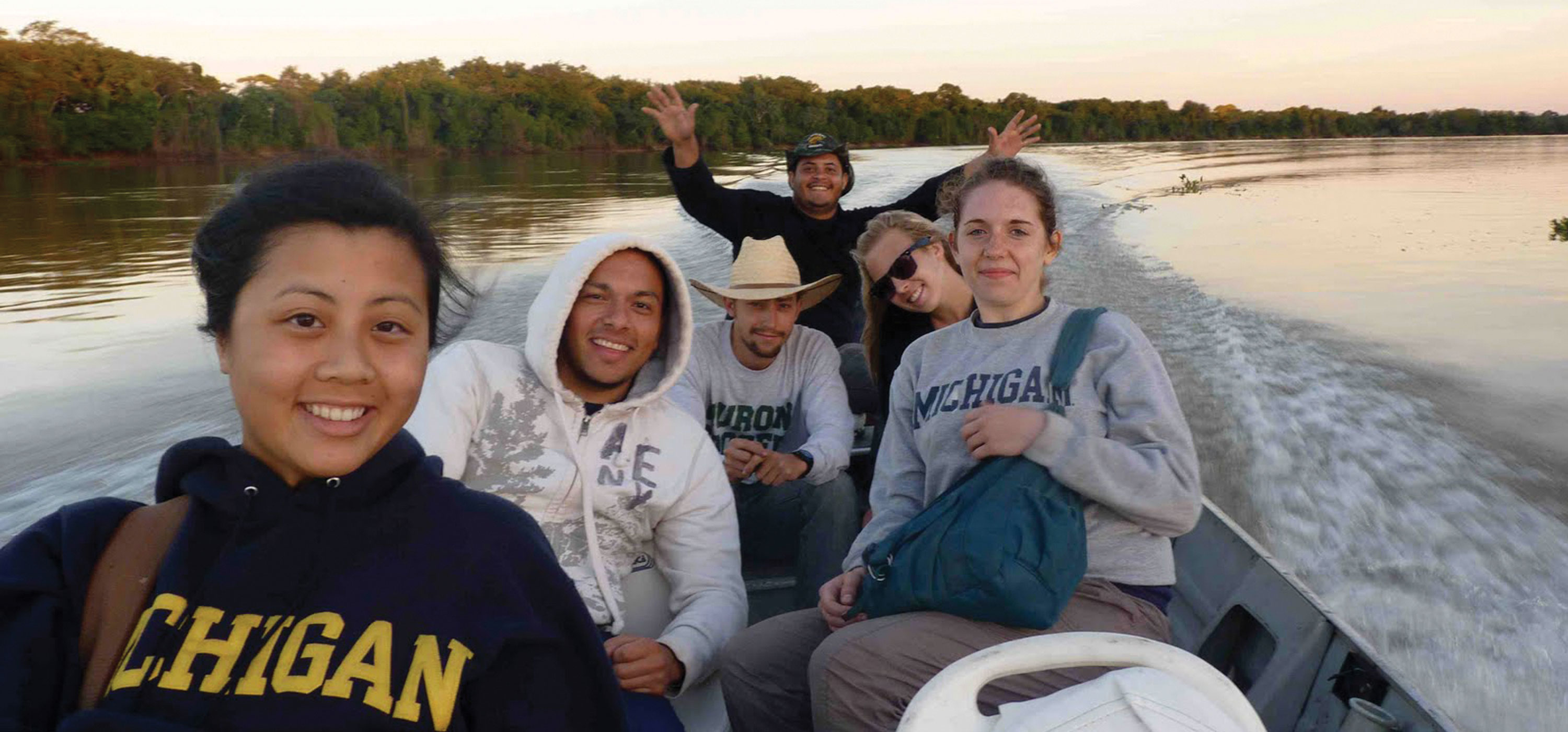 Gaining global perspectives: U-M is ranked No. 6 in the nation for the total number of students studying abroad.