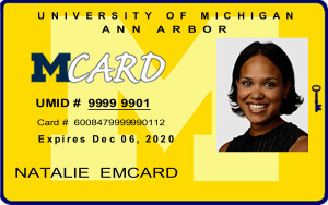 A mockup of the front of the 2016-17 Mcard.
